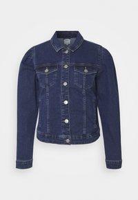 ONLY - ONLALLY  - Jeansjakke - dark-blue denim - 4