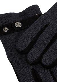 Bugatti - Gloves - grau/schwarz - 3