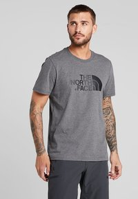 The North Face - EASY TEE SUMMIT GOLD - T-Shirt print - grey heather - 0