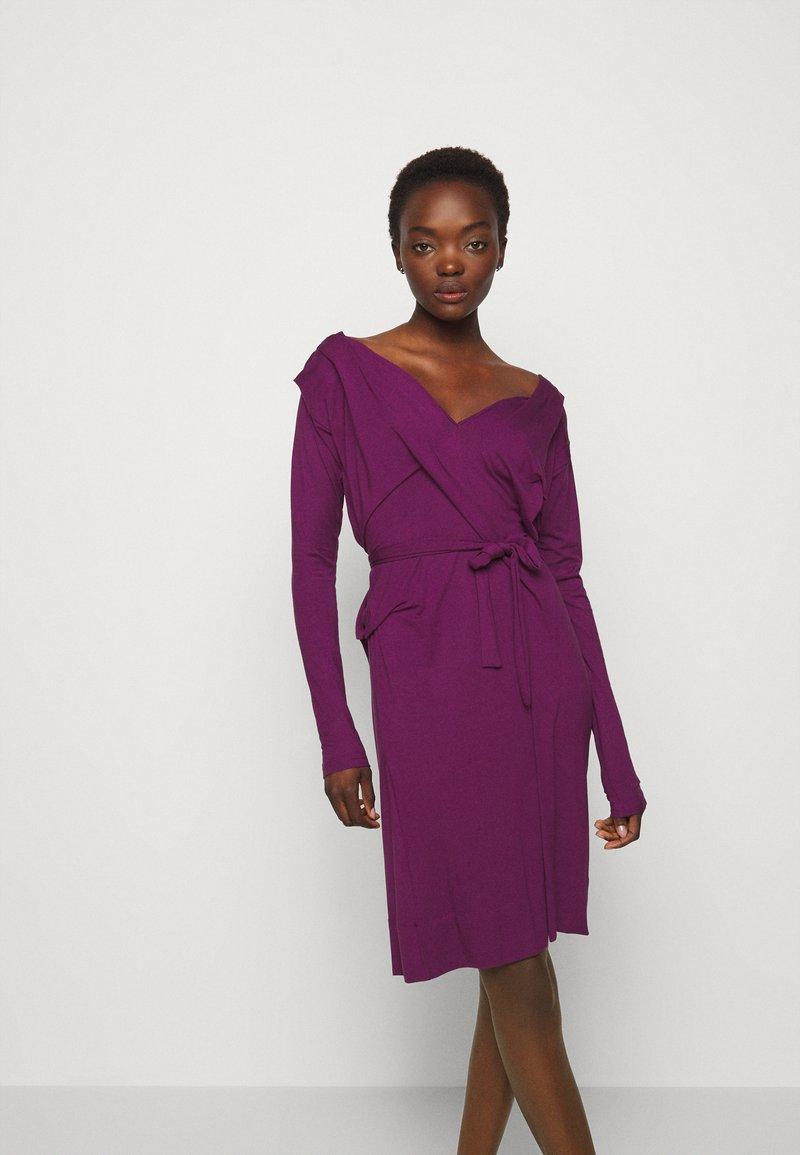Vivienne Westwood - PANEGA DRESS - Jersey dress - purple