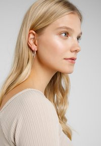 Pilgrim - EARRINGS LAYLA - Ohrringe - silver-coloured
