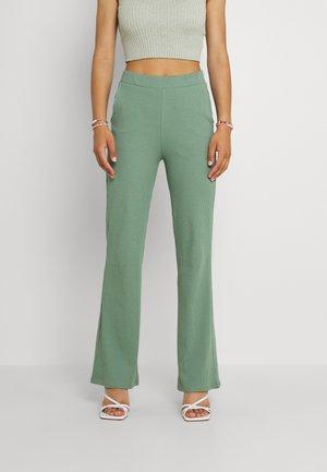 VIJULLA PANTS - Trousers - hedge green