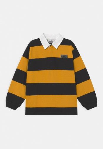 Polo shirt - black/yellow