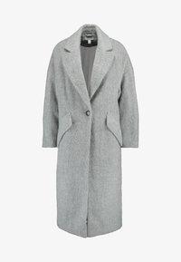 Topshop - EFFIE BRUSHED COAT - Manteau classique - grey - 4