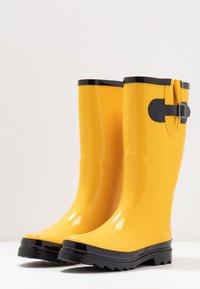 Anna Field - Gummistøvler - yellow - 4