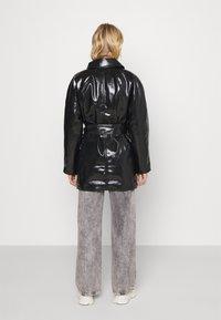 Weekday - JANIS SHORT JACKET - Short coat - black - 2