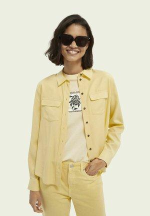 SCOTCH & SODA  - Button-down blouse - sunshine yellow