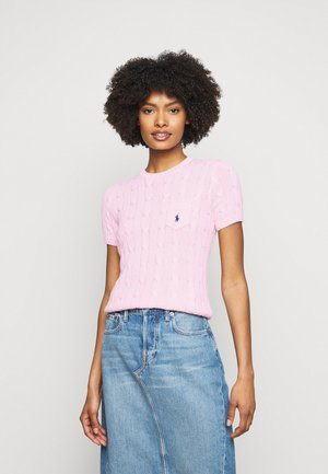CLASSIC CABLE TEE - T-shirts med print - pink