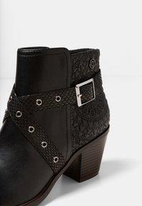 Desigual - ALASKA MANDALA - Classic ankle boots - black - 6