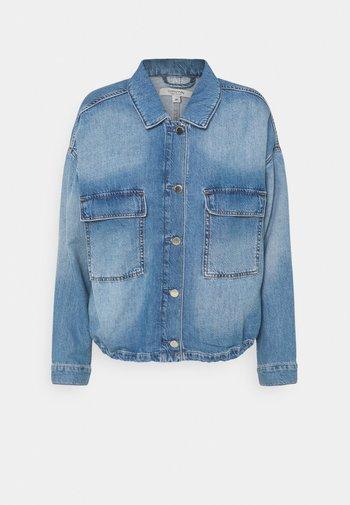 Denim jacket - drapy ligh