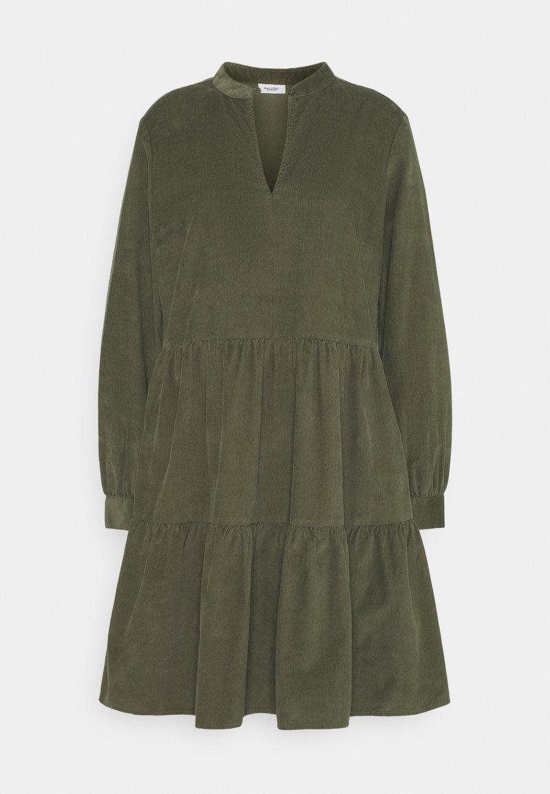 Marc O'Polo DENIM - DRESS GATHERED SKIRT - Day dress - utility olive