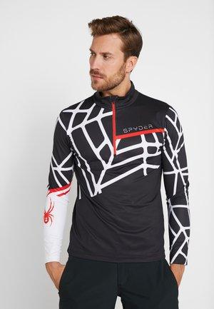 VITAL - Long sleeved top - black/white