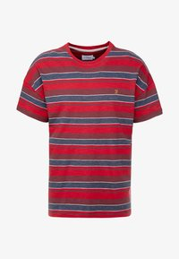 Farah - WIGNALL TEE - Print T-shirt - tar marl - 3
