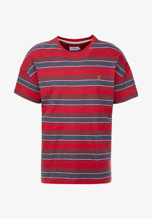 WIGNALL TEE - Print T-shirt - tar marl