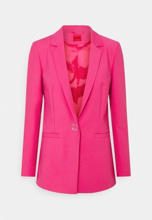 ALINJA DOUBLE - Short coat - bright pink