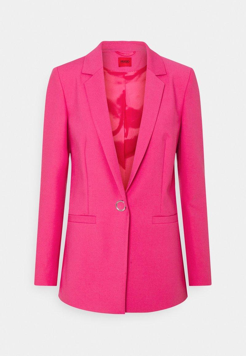 HUGO - ALINJA DOUBLE - Manteau court - bright pink