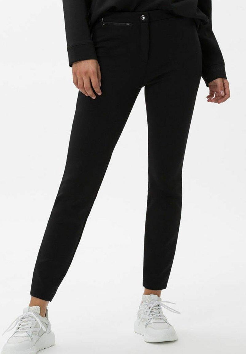 BRAX - STYLE LOU - Trousers - black