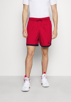 DRY AIR SHORT - Pantalón corto de deporte - gym red/black