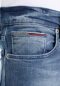 Tommy Jeans - ORIGINAL RYAN BEMB - Straight leg jeans - berry mid blue comfort - 3