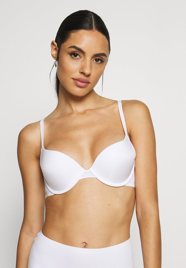 MICHELLE - Push up -rintaliivit - white
