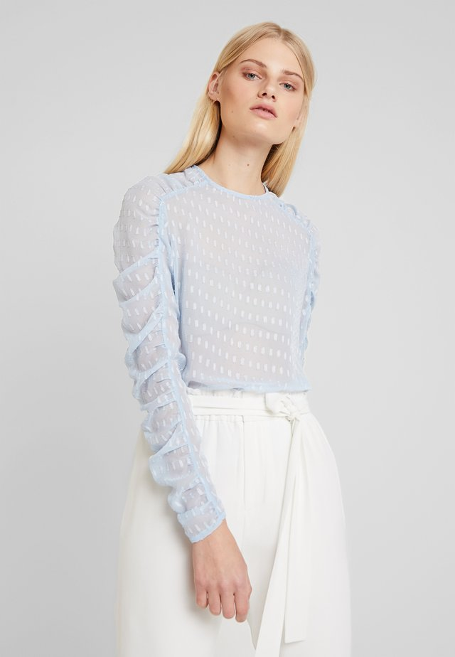 PUFFBLOUSE - Camicetta - powder blue