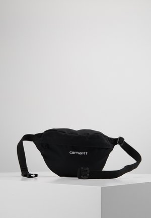 PAYTON HIP BAG UNISEX - Ledvinka - black/white