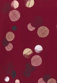Esprit - CORE - Maglietta a manica lunga - bordeaux red - 2