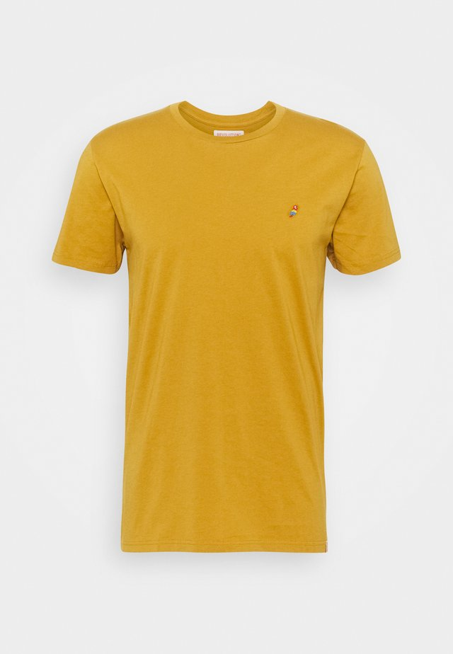 REGULAR - Basic T-shirt - yellow