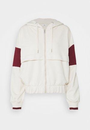 ONLRIA HOODIE ZIP - Zip-up hoodie - moonbeam