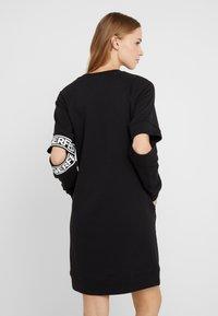 KARL LAGERFELD - CUT OUT SLEEVE DRESS - Day dress - black - 2
