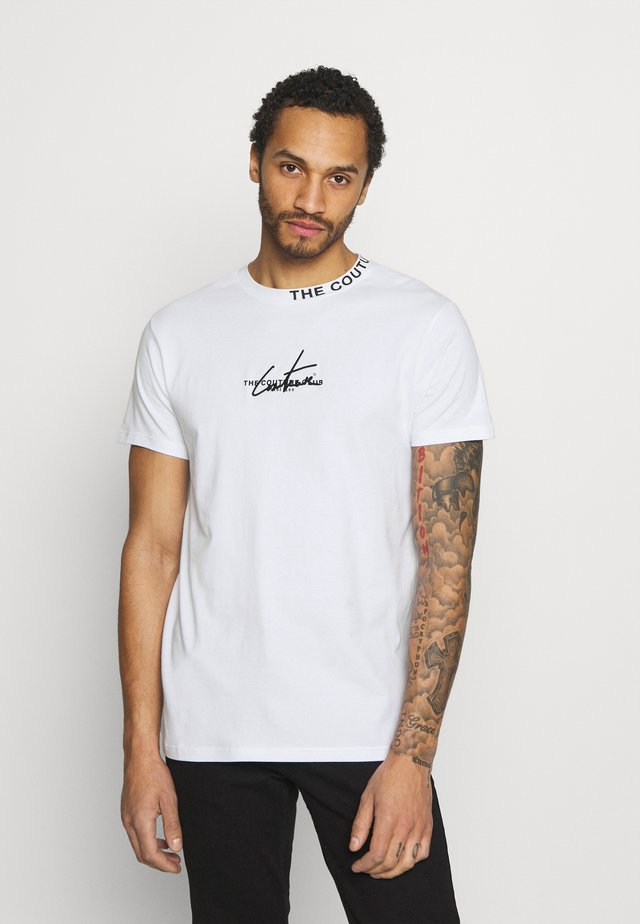 SIGNATURE LOGO - Print T-shirt - white