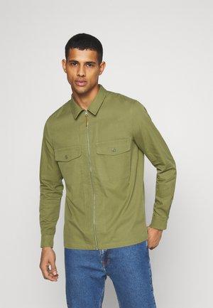 KATO ZIP - Summer jacket - capulet olive