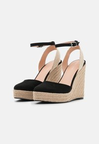 Even&Odd - Platform sandals - black - 2