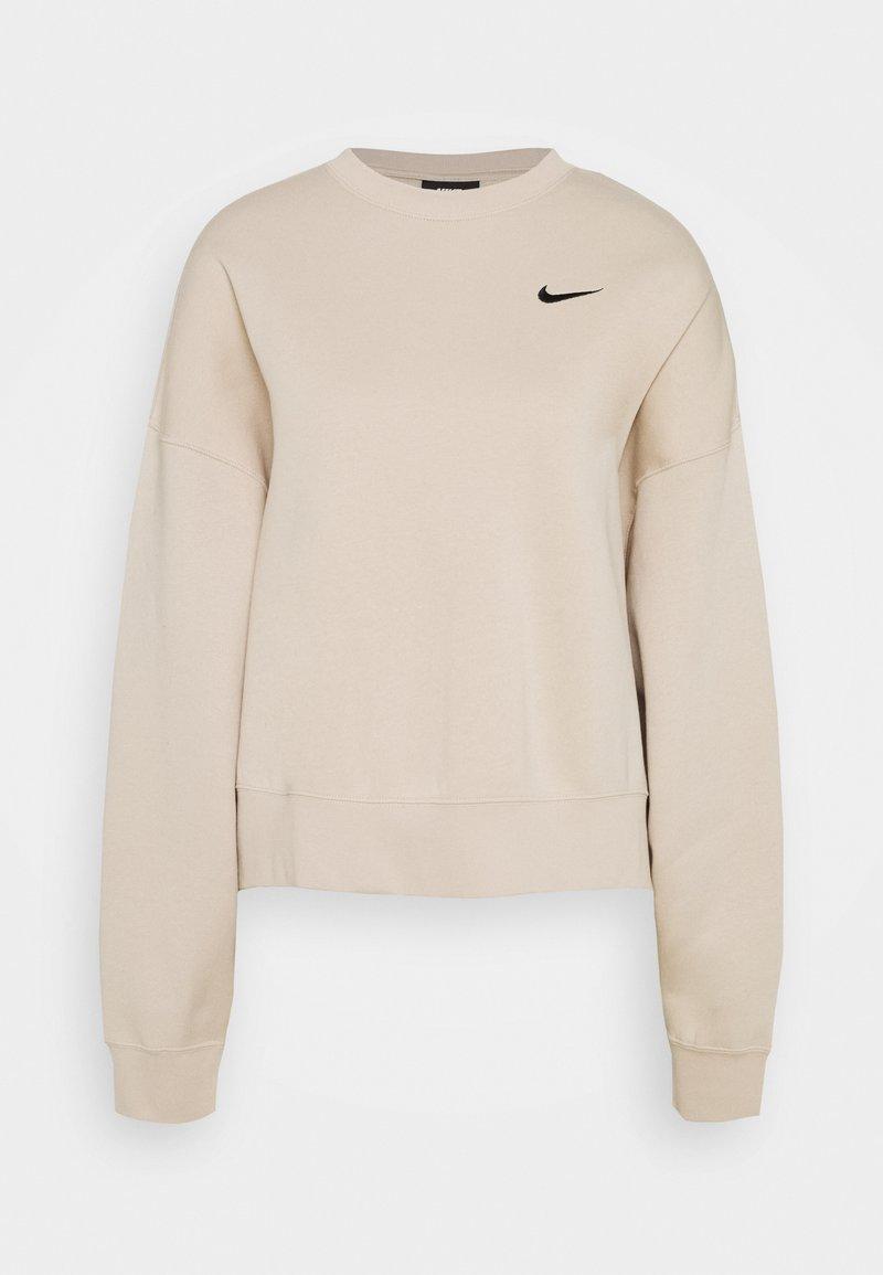 Nike Sportswear - CREW TREND - Sweatshirt - oatmeal