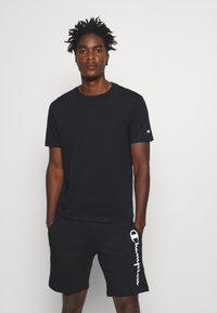 Champion - LEGACY CREW NECK 3 PACK - Basic T-shirt - black/white/grey - 3