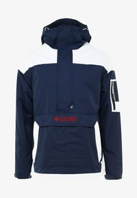 Columbia - CHALLENGER - Windbreaker - collegiate navy/white - 5