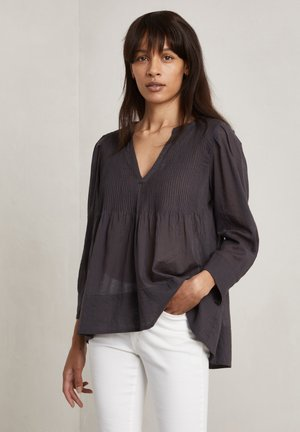 CARLA - Long sleeved top - charcoal
