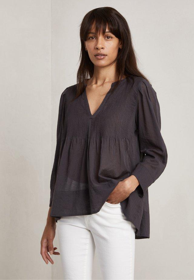 CARLA - Langærmede T-shirts - charcoal
