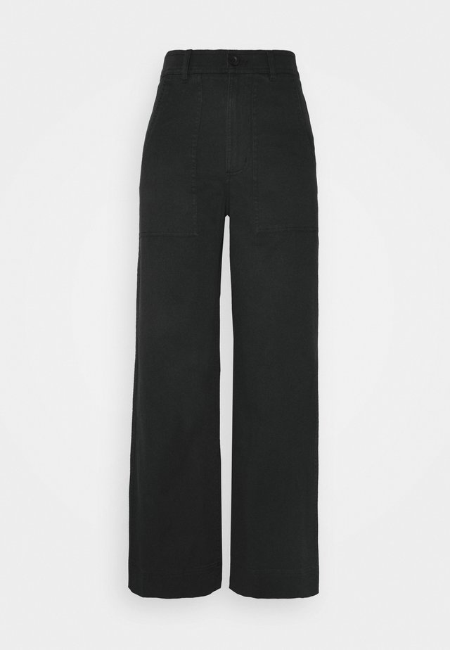 PANTS WORKWEAR VARA - Bukser - black