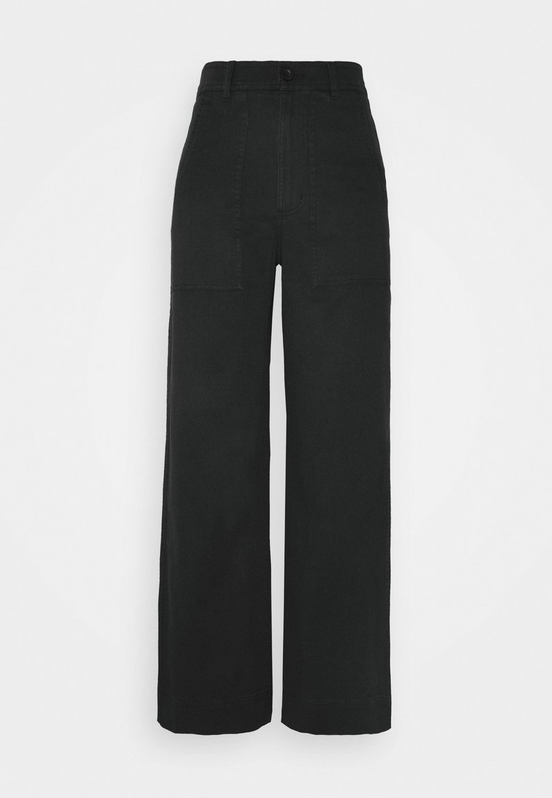 Dedicated - PANTS WORKWEAR VARA - Trousers - black