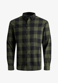 Jack & Jones - JJEGINGHAM  - Skjorta - dusty olive - 0