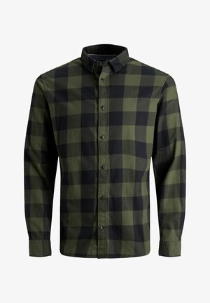 JJEGINGHAM  - Shirt - dusty olive