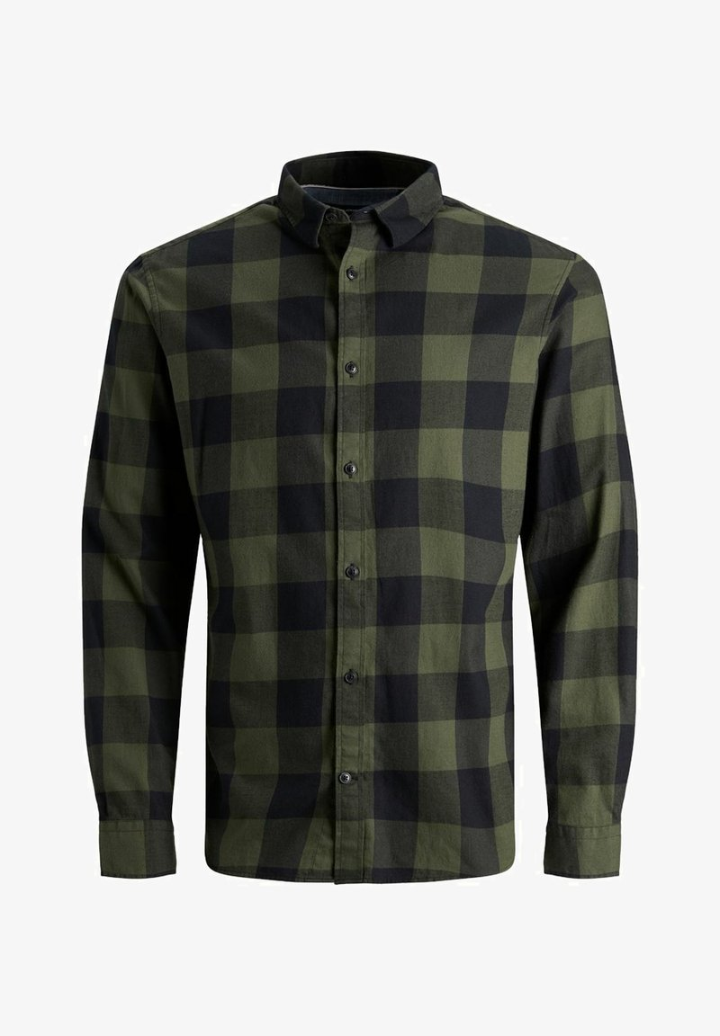 Jack & Jones - JJEGINGHAM  - Skjorta - dusty olive