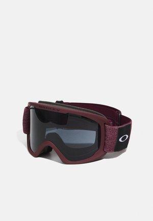 FRAME 2.0 PRO XL UNISEX - Lyžařské brýle - dark grey/persimmon
