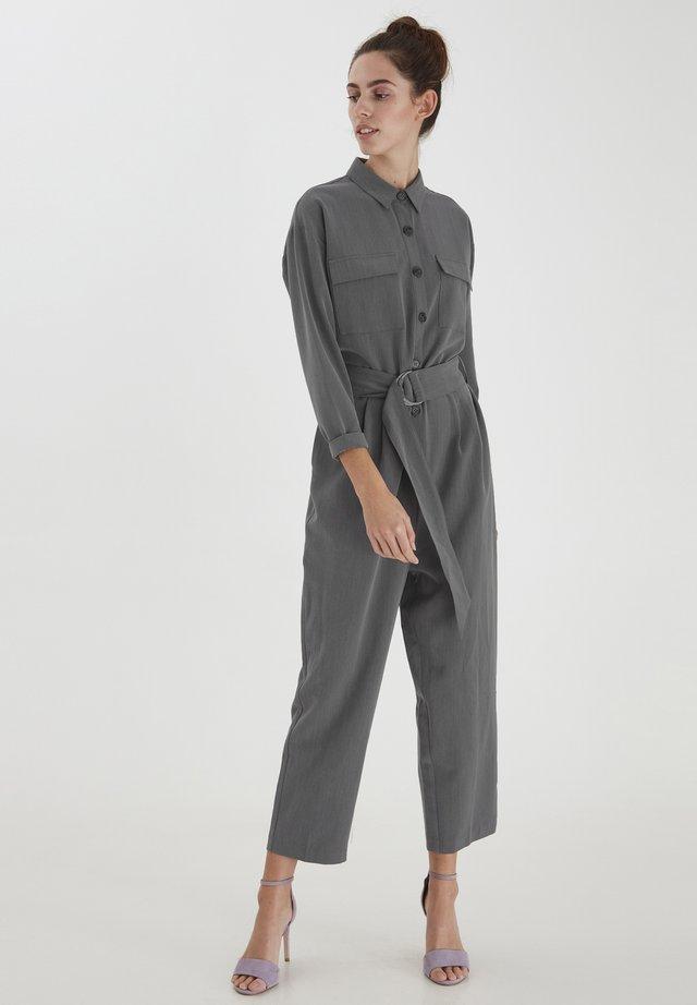 Jumpsuit - grey melange