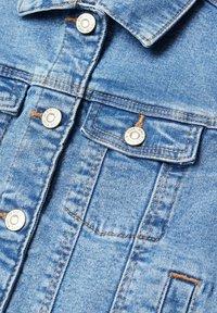 Mango - ALLEGRA - Džínová bunda - bleu moyen - 2