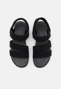 ARKET - SANDALS - Sandaalit nilkkaremmillä - black - 3