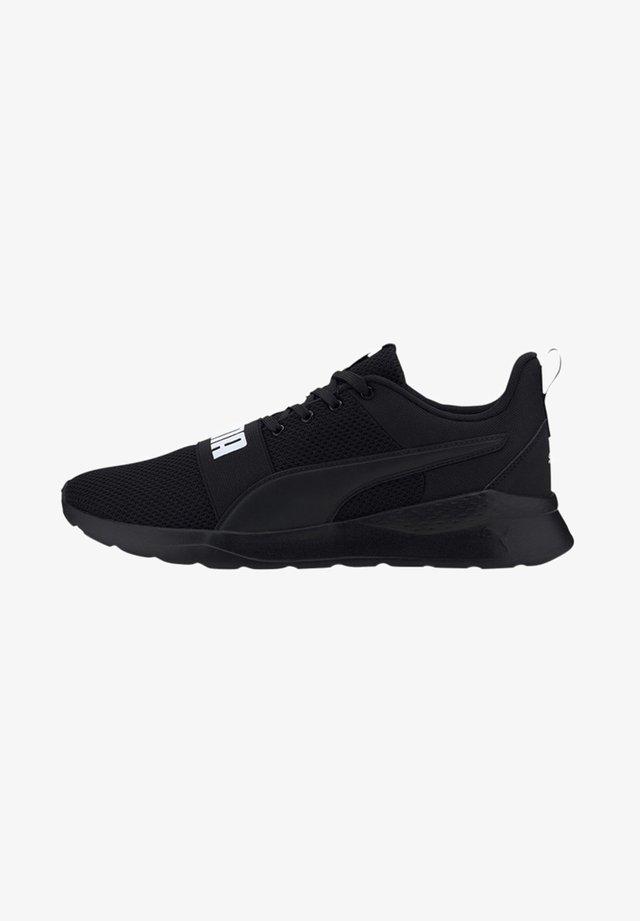 ANZARUN LITE BOLD - Sneakersy niskie - black/white