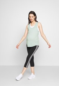 Cotton On Body - MATERNITY TRAINING TANK - Camiseta de deporte - washed aloe - 1