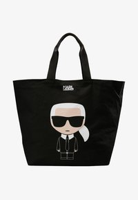 KARL LAGERFELD - IKONIK - Bolso shopping - black - 5
